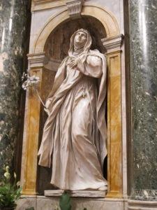 Cappella_chigi_(siena),_Ercole_Ferrata,_santa_caterina_da_siena_02