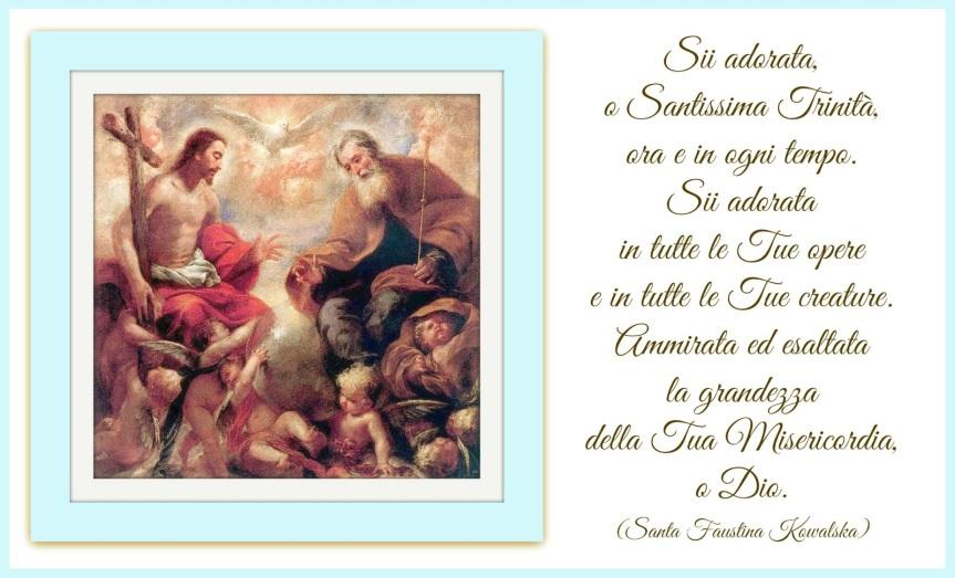 Preghiere alla SantissimaTrinità