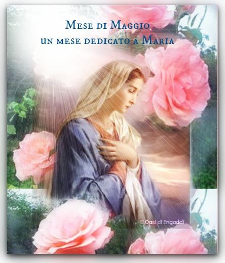 Perché maggio è il mese dedicato a MARIA SANTISSIMA ed al SantoRosario
