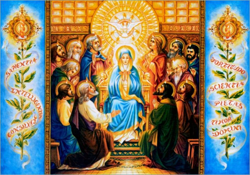Lo Spirito Santo ,Dono di Gesù per la SuaChiesa