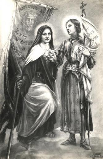 s. giovanna d'arco e santa teresina