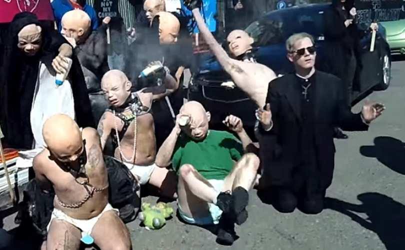 """Aborto:""""rito sacro"""" per i satanisti che difendono Planned Parenthood,le cliniche dell'infanticidio"""