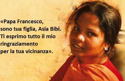 Asia Bibi ha cominciato l'ottavo anno di carcere, solo perchè è  CRISTIANA. In cella ha rifiutato di convertirsiall'islam.