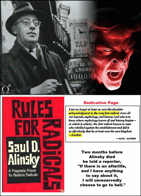 Il luciferiano Alinsky: il mentore di Obama e di HillaryClinton