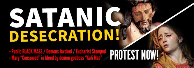 Rituale satanico pubblico in Usa, previsto per il 15 Agosto 2016, Festa Assunzione della Beata Vergine Maria. Petizioni in tutto il mondo contro atto di odio anticristiano, permesso dal governoamericano.