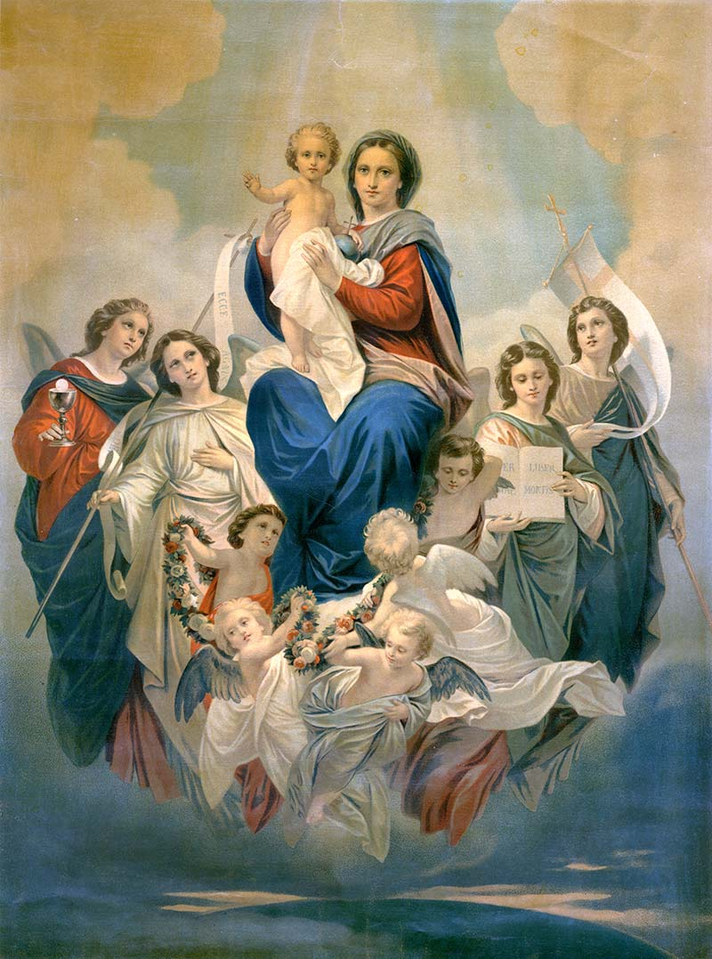 2 agosto Solennità di MARIA REGINA DEGLIANGELI