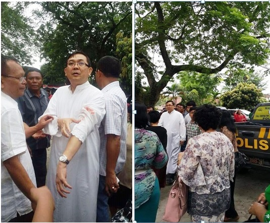 """Indonesia. Kamikaze tenta di uccidere sacerdote cattolico: """"È stato ispirato dall'attentato a padreJacques"""""""