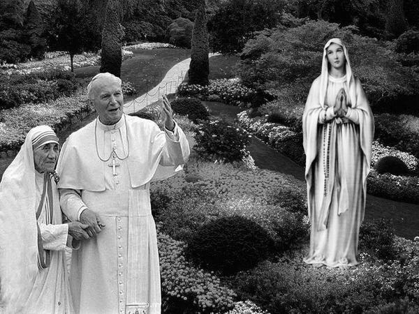 """Santa Madre Teresa: """"L'aborto è una guerra diretta, un diretto omicidio. Se una madre non vuole il suo bambino, lo dia a me, perchè io loamo""""."""