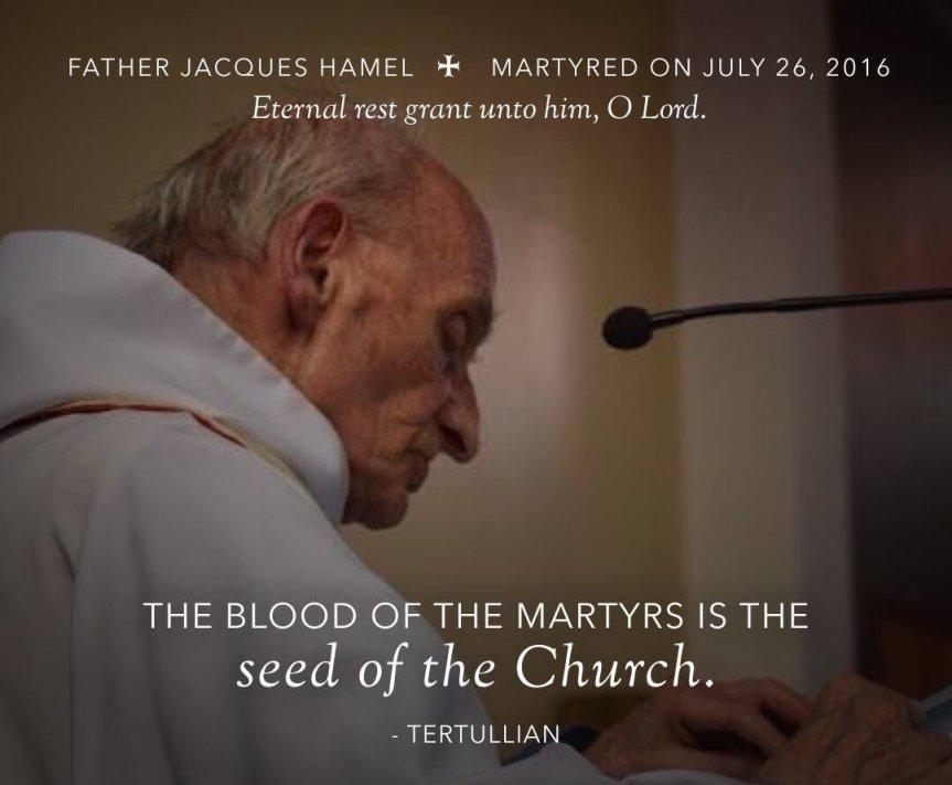 «Vattene, Satana!»: le ultime parole di padre Jacques Hamel. In suo onore, l'iniziativa concreta di Aiuto alla Chiesa che soffre: il sostegno alla formazione di 1000 sacerdoti in tutto ilmondo.