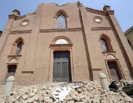 Dopo il sisma del 2012, la Regione Emilia Romagna versa 600mila euro per la moschea, già finanziata dal Qatar(fondamentalismo islamico); alle chiese cattoliche distrutte,niente.