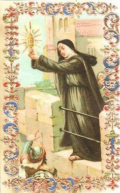 Quando Santa Chiara scacciò i saraceni con il Miracolo della SantaEucaristia