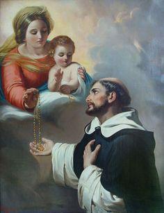 San Domenico di Guzman e il Santo Rosario, la preghiera più forte per vincere i nemici dellafede