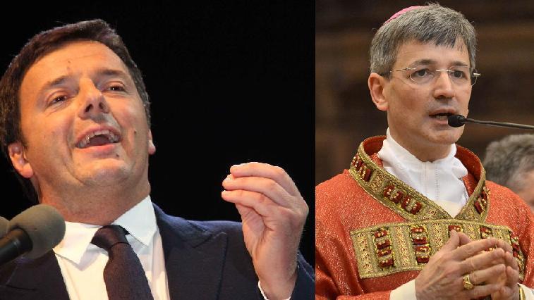 """Renzi vieta la benedizione di un'autostrada. Il Vescovo: """"Non calpestare le radici cristiane delpopolo!"""""""