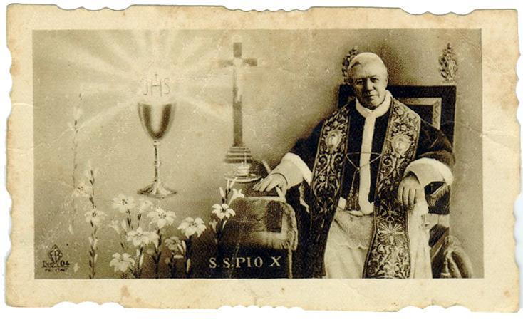 SAN PIO X il Papa dell'Eucaristia