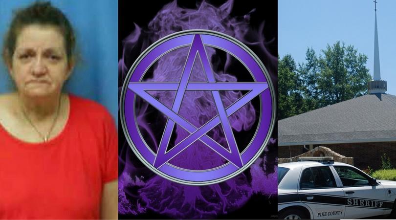 Una strega wicca arrestata per vandalismo in una chiesa cattolica e profanazione del SantissimoSacramento