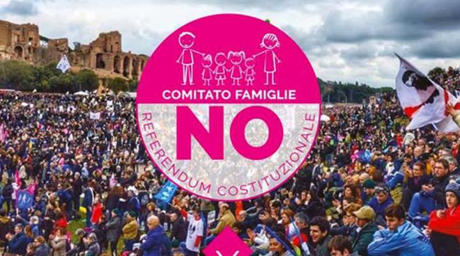 IL NO DEL POPOLO DELLE FAMIGLIE AL REFERENDUM DI RENZI: No alla deriva autoritaria dell'attualegoverno