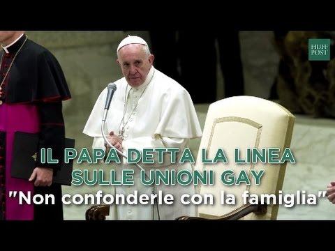 """Vescovo in Spagna: """"la benedizione di coppie omosessuali è in grave contrasto con gli insegnamenti di Papa Francesco e con la dottrina dellaChiesa""""."""