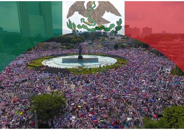 """Messico: più di un milione in Marcia per difendere la Famiglia dall'imposizione di gender e """"matrimoni gay"""""""