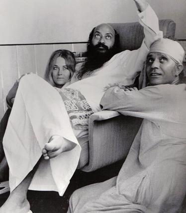 osho-veena-shyam-woodlands-bombay-1973