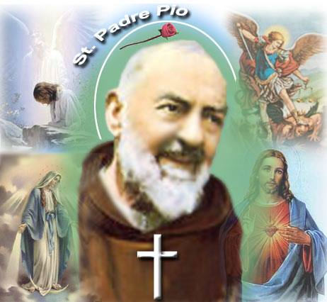 La speciale devozione di S. Padre Pio per San Michele Arcangelo e per gli Angeli diDio