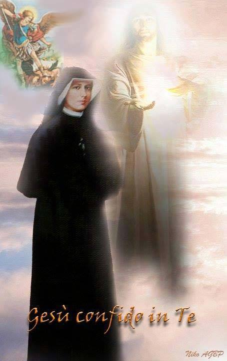 Santa Faustina, grande devota di San MicheleArcangelo