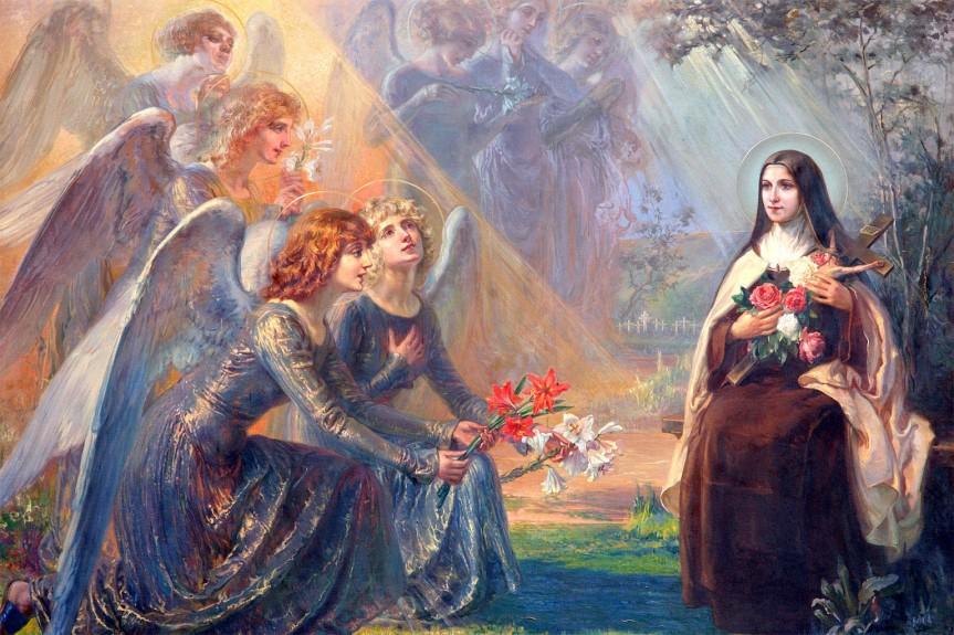 Santa Teresa di Lisieux e gli Angeli di Dio: le sue poesie epreghiere