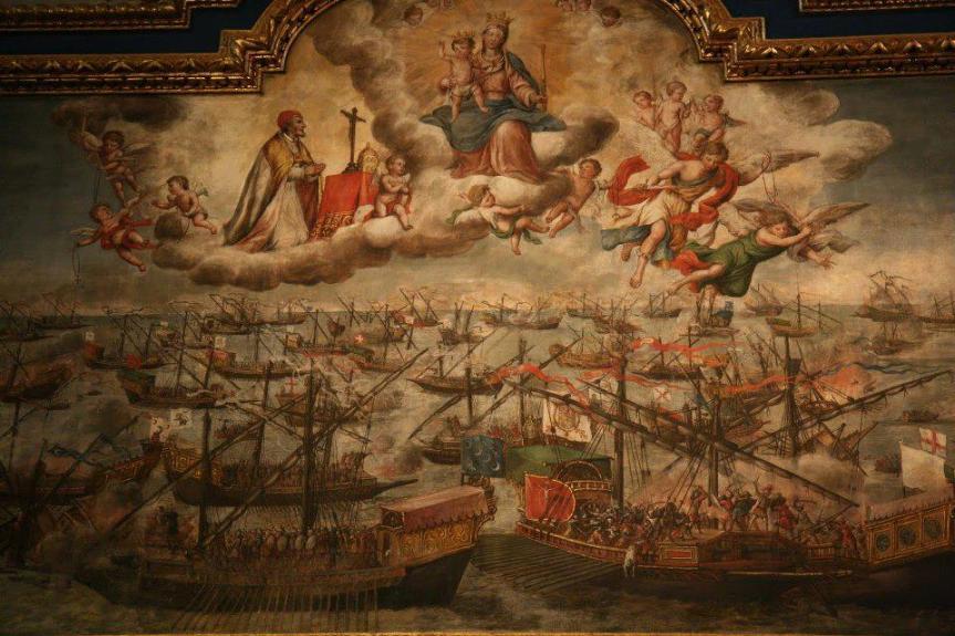 La Beata Vergine Maria del Santo Rosario e la vittoria diLepanto