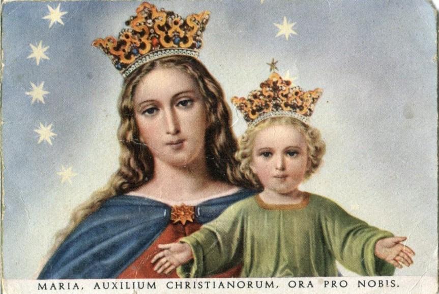 """Preghiere a MARIA, AIUTO DEI CRISTIANI, """"la Madonna dei tempi e delle situazioni difficili""""(S. GiovanniBosco)"""