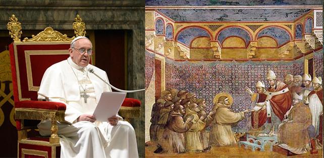 """Papa Francesco:""""una cosa è accogliere gli omosessuali per avvicinarli a Dio, altra l'indottrinamento gender, che è la cattiveria che si fa oggi"""". La visita a sorpresa del Papa aiterremotati"""