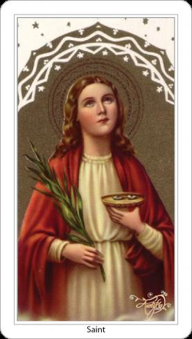 Santa Lucia, la luce dellafede