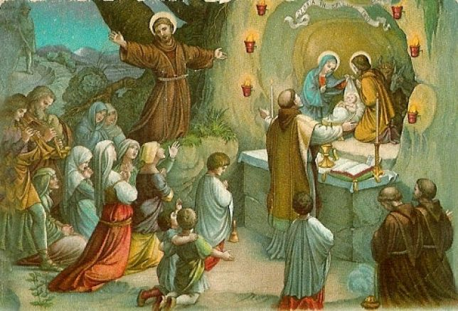 """San Francesco d'Assisi, il """"regista"""" del primoPresepe"""