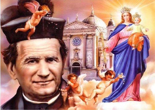 San Giovanni Bosco e gli Angeli custodi: preghiere per otteneregrazie