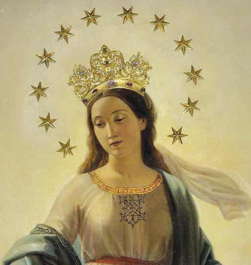 Supplica alla Madonna del miracolo- 175°anniversario apparizione della S.Vergine ad A. Ratisbonne, basilica di S. Andrea delle Fratte(Roma)