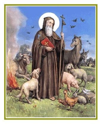 Sant'Antonio abate, vittorioso sugli inganni delmaligno