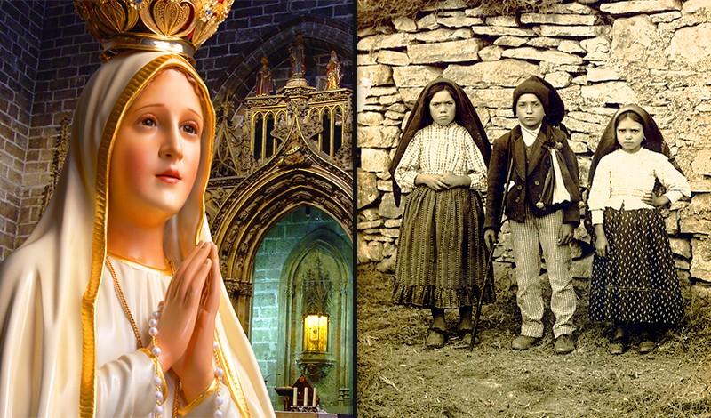 7 invocazioni che santificano alla Madonna diFatima