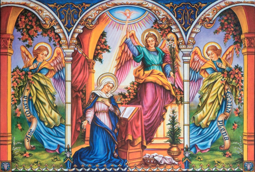 L'Annunciazione del Signore e il sublime valore dell' AVEMARIA