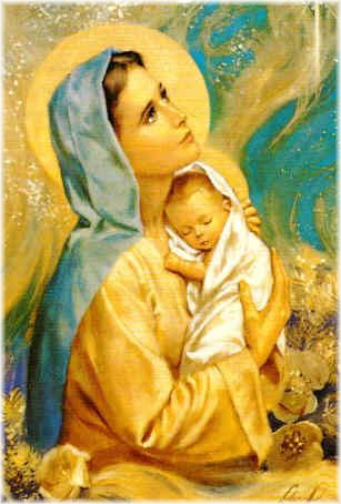 """""""Maria Santissima è il prototipo della genuina femminilità…è l'archetipo della personale dignità della donna"""" (S. Giovanni Paolo II, S. Teresa Benedetta dellaCroce)"""