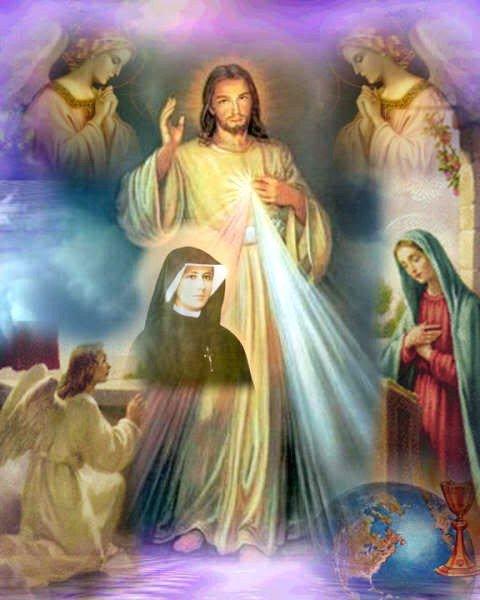 Novena della Divina Misericordia, ispirata da GESU' a S. FaustinaKowalska
