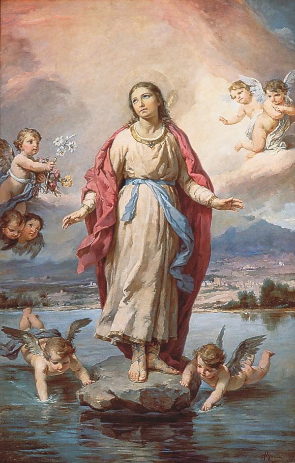 Santa Cristina e il miracolo eucaristico diBolsena