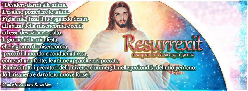 Festa della Divina Misericordia: una festa voluta daGESU'