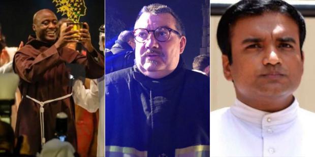 Alcuni dei sacerdoti cattolici premiati nel 2019 per il loro altruismo eroico, ignorati daimedia