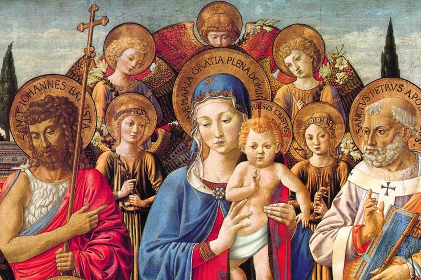 Preghiera a Maria Madre di Cristo e  Madre dellaChiesa