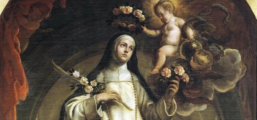 Santa Rosa da Lima, terziaria domenicana, prima Santa dell'America latina