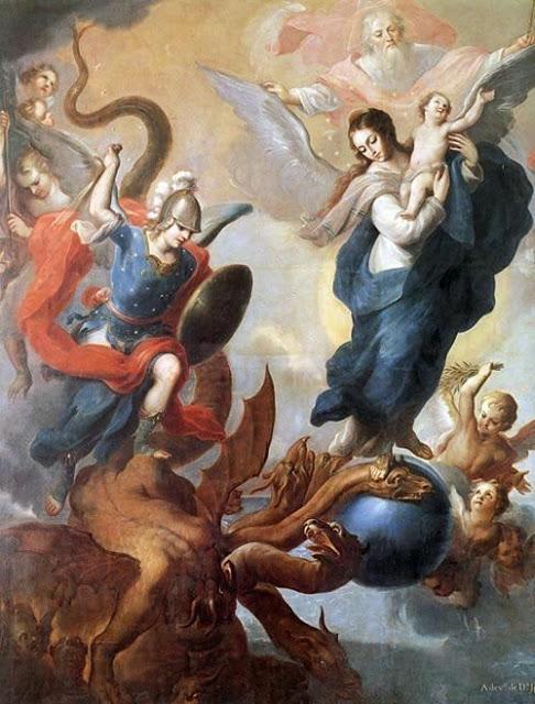L' azione della Madonna e di San Michele Arcangelo nel ProgettoSalvifico
