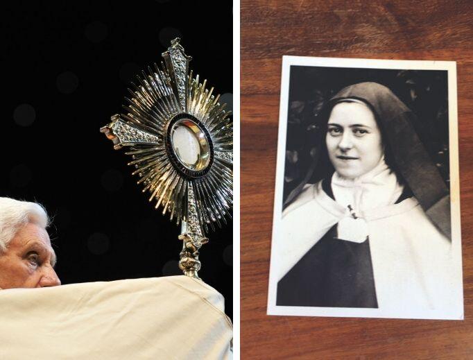 Una donna anglicana diventa cattolica grazie a Santa Teresa di Gesù Bambino e all'incontro con GesùEucaristia