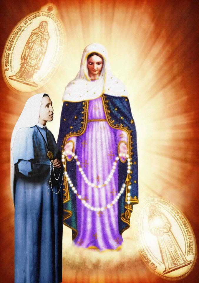 Il Rosario delle Lacrime della Madonna, devozione potente che annulla i malefici, protegge dagli inganni delle sette occultiste, libera anime delPurgatorio