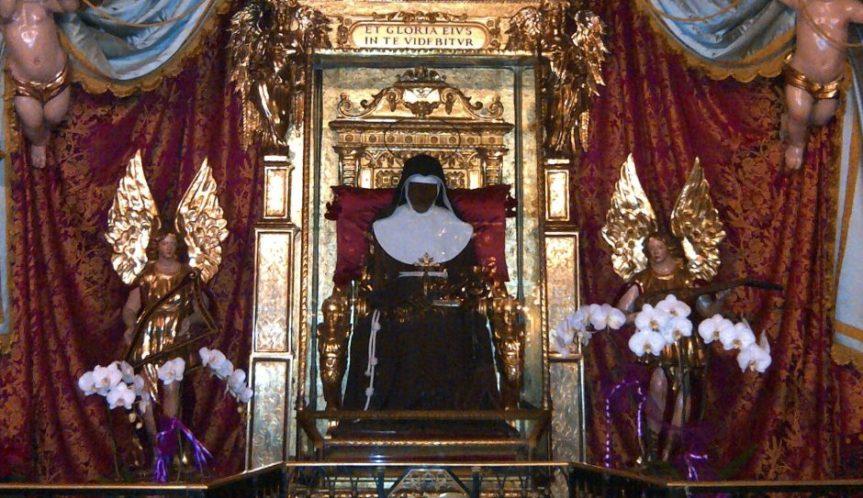 S. Caterina da Bologna, protettrice dei sacerdotiesorcisti