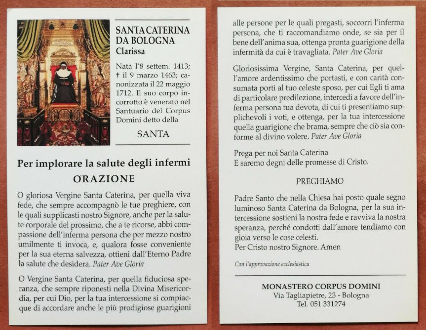 Santino-Holy-Card-S-Santa-Caterina-da-Bologna