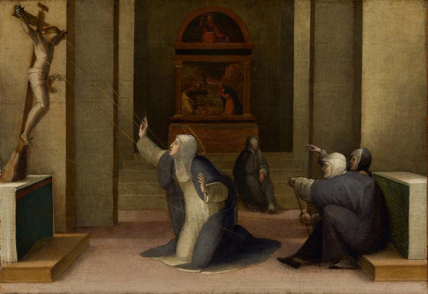 1° Aprile 1375: Santa Caterina da Siena riceve leStimmate