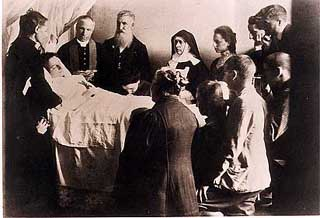 Death of St Gemma Galgani
